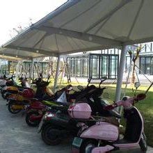 膜结构自行车车棚-膜结构-苏州创锦帆装饰工程有限公司