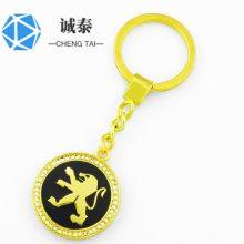 定做帽子钥匙扣,古铜色钥匙链制作,公司纪念礼品生产
