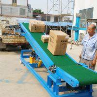 都用-800宽粮食装车输送机 空心砖装车输送机 移动式大米皮带机