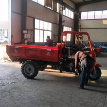 志成直销三轮加重底盘工程车 农用自卸翻斗车 建筑工地混凝土拉砖车