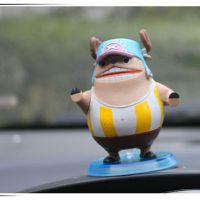定做海贼手办模型乔巴公仔 PVC搪胶动漫汽车摆件 生日礼物定做