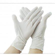 千级丁腈手套 强抗磨和穿孔手套实验室食品加工厂防护手套 一次性防尘手套抗氧化
