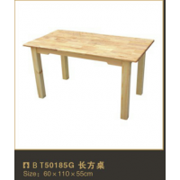 多功能款式桌子防腐木来图定制专业设计木制桌子厂家定制教育学习装备