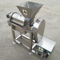 不锈钢商用榨汁机 西瓜哈密瓜水果榨汁机视频