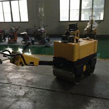 小型驾驶式路面压实机 混凝土双钢轮压路机 全液压振动压土机