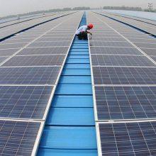合肥屋顶光伏发电-合肥保利新能源-工厂屋顶光伏发电