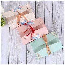书本式礼品盒 韩版礼物包装盒 ins礼品盒订做 文艺礼盒制作