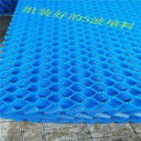 厂家直销 S波冷却塔填料 用量 布水均匀 PVC材质 冀州亿恒