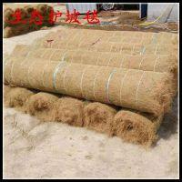 厂家直销山体加固加筋抗冲毯 屋顶绿化环保棕榈毯 路桥护坡生态毯