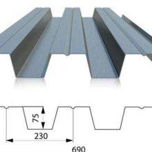 白银市开口楼承板YX75-230-690型镀锌钢承板生产厂家