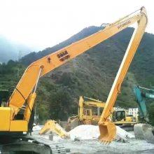 定制日本小松挖掘机岩石臂和三段式加长臂热销产品
