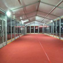 厂家供应铝合金欧式尖顶篷房、会展篷房