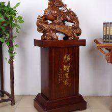 环典工艺 红木工艺品木制一帆风顺帆船模型摆件实木质客厅摆设家居开业礼品