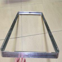 拉弯铝合金型材 6063 6463材质淋浴房轨道折弯 各种工业铝材拉弯