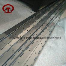 生产不锈钢长条合页 柜门安装合页厂家