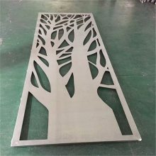雕花镂空铝板装饰_德普龙氟碳镂空铝板