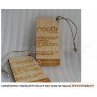 原厂家定做生产竹制挂牌 空白竹片 环保竹制吊饰