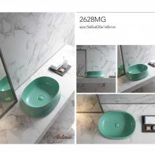 安东尼奥-台上盆洗手盆面盆家用方形创意台上盆陶瓷艺术盆洗漱台10400C