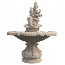 埃及米黄水钵景观 虾红寺庙手水钵 生产商