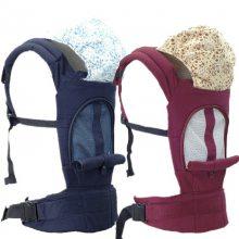 812透气款多功能背带纯棉婴儿背架宝宝背带 儿童背带幼儿背袋