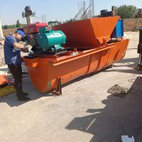 U型渠道成型机 水渠成型机 水利灌溉渠道衬砌机 一次性现浇自走式混凝土滑模机