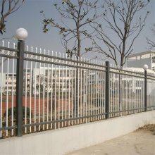 河北锌钢护栏厂家 小区护栏网 蓝白方管围墙栏