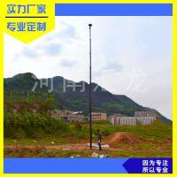 汇龙生产8米手动天线升降杆电动碳纤维升降杆价格从优厂家直销