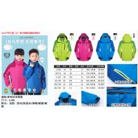 童装户外服 冲锋衣 款式多样选择 可来样定制