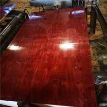 十年老厂建筑小红板覆膜板直销