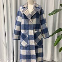 品牌女装折扣货源 女缇系列双面呢大衣冬装库存走份 一手货源批发