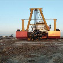 大型绞吸式挖泥船工作量有多大-启航疏浚