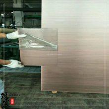 定做优质304不锈钢红古铜黑拉丝装饰板 黑古铜拉丝不锈钢板报价