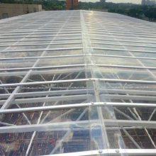 遮阳棚PC耐力板透明3mm阳光板实心阳光房阳台户外防晒雨棚采光板鹿航