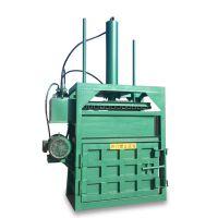 水泥袋子压包机 启航立式废旧纸壳打包机 油桶压扁设备好用高效