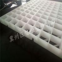 污水冷却塔PP网格填料 多面空心球支撑网格板 亿恒塑料专业生产