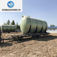 产地货源供应山西阳泉市定制地埋玻璃钢化粪池 模压化粪池 玻璃钢管道