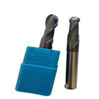 厂家供应60度钨钢铣刀4刃合金CNC涂层数控刀具平底立铣刀D12*100