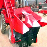 全自动玉米收割机 粮食玉米收粮机 自带料仓玉米秸秆回收机