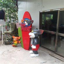 广州接待卡通人物雕塑 玻璃钢卡通公仔雕塑