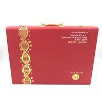 厂家直销定制PU皮化妆品包装盒 EVA材质烫金工艺精美包装礼盒