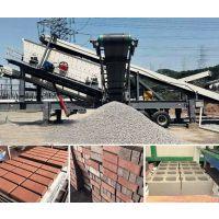 大型青石移动式破碎机 嗑石机生产线 恒美百特