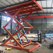 出口液压升降平台 外贸固定式升降货梯 仓库1吨2吨货物举升机 按需定制