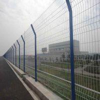 河北圈地铁丝围栏网_围山带框防护网厂家_公路护栏网
