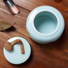 正品包邮大号陶瓷家用茶壶龙泉青瓷哥窑冰裂纹单壶功夫茶具