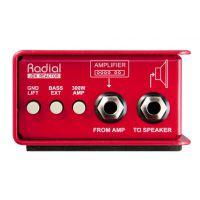 Radial JDX-48 吉他功率放大器DI直插盒批发零售 单通道DI直插盒 吉他DI盒 乐器直插
