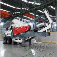 移动破碎站投资成本是多少 移动式破碎机 移动磕石机厂家