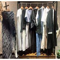 广西设计谷尾货批发女装折扣服装批发货源直播折扣特卖多种款式多种风格
