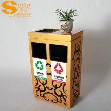 专业生产SITTY斯迪95.1935D分类大堂垃圾桶/木质垃圾桶/烟灰桶