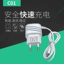 斜纹USB带线5V1A充电器充电头