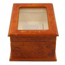 厂家直销精美禾田玉包装礼盒高档木质翻盖盒可印刷logo均可定制